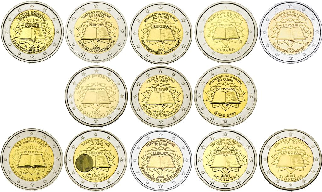 2 euros commemoratives - Piece 2 euros la plus chere ...